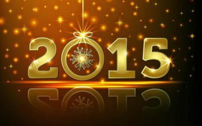 A toutes et à tous : Bonne année 2015 !